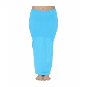 Clovia Blue Nylon Spandax  Saree Shapewear