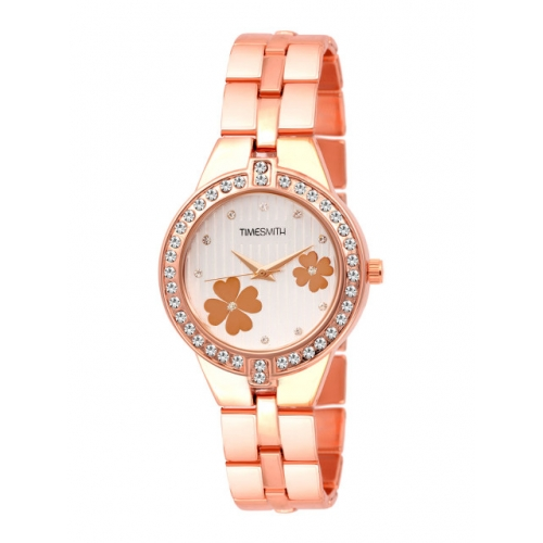 TIMESMITH Women White Analogue Watch TSC-052