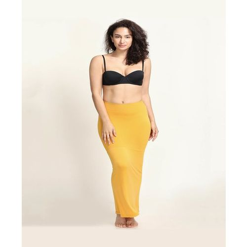 Zivame Yellow Regular Fit Saree Shapewear