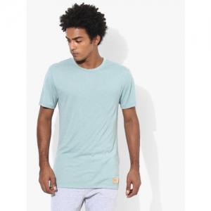 ASICS Tiger Blue Round Neck T-Shirt