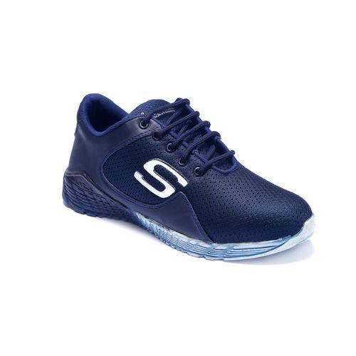 Shoebook Men's Navy Blue Sports Shoes