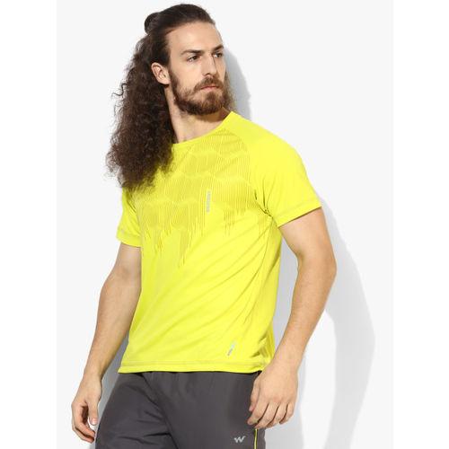 Wildcraft Lemon Round Neck T-Shirt