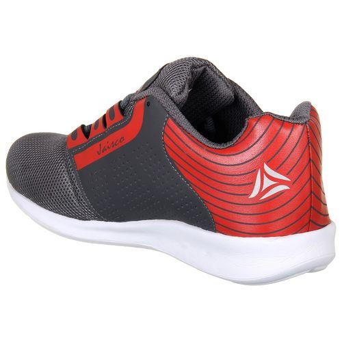 Look & Hook Look Hook jais co Dark Grey Red outdoor running sport shoes for men