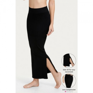 Zivame Medium Control Mermaid Saree Shapewear - Black