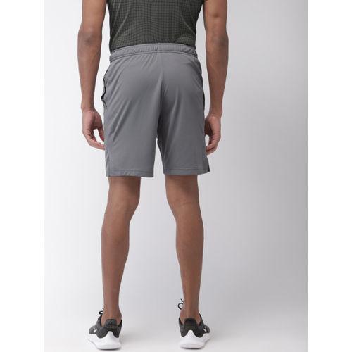Nike Men Grey Solid Standard Fit AS M NK SHORT MNSTR MESH 4.0 DRI-FIT Training Shorts