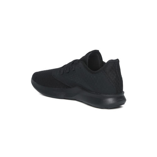 Reebok Black Textured Cruiser Running Shoes