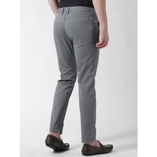 Peter England Casuals Men Pack of 2 Slim Fit Regular Trousers