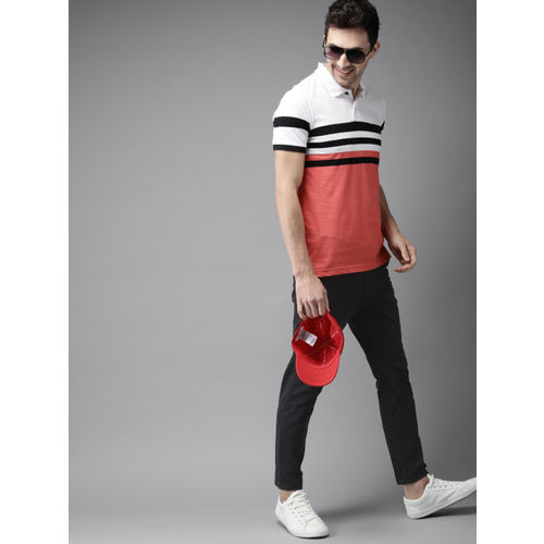 HERE&NOW Men Black Solid Chinos