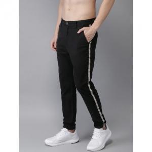 75442f2b1b Moda Rapido Men Black Regular Fit Solid Joggers. ₹899 ₹1799 Myntra. 50% off