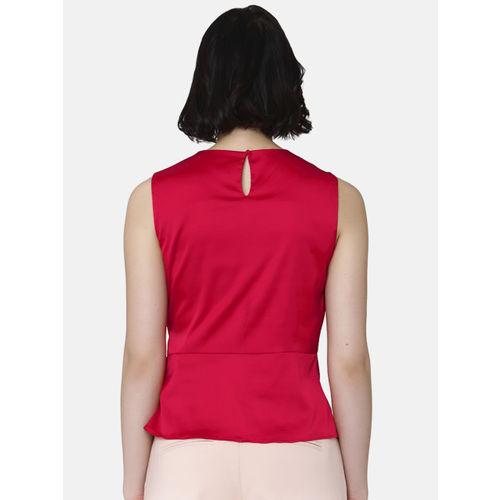 Vero Moda Women Red Solid Top