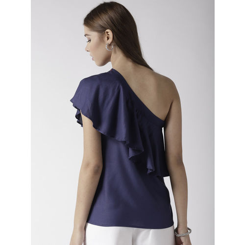 20Dresses Women Navy Blue Solid Top