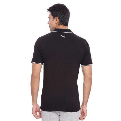 Puma Black Men s ESS Tipping Polo T-shirt