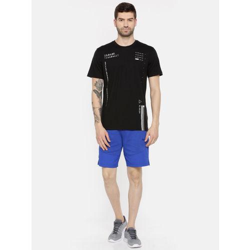 Puma Men Black Printed N.R.G. Graphic dryCELL Round Neck T-shirt