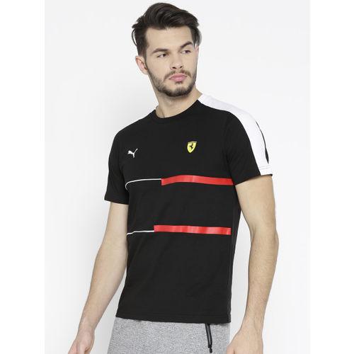 Puma Men Black SF T7 T-shirt