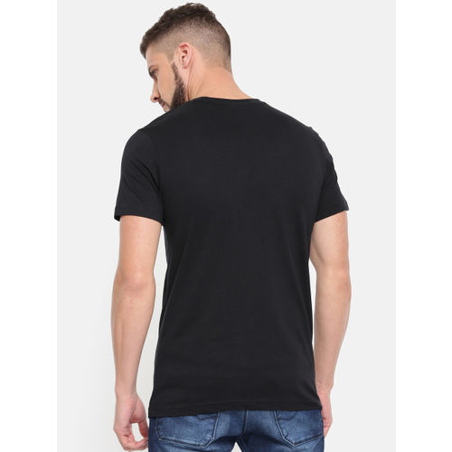 Puma Men Black Printed VK Graphic T-Shirt