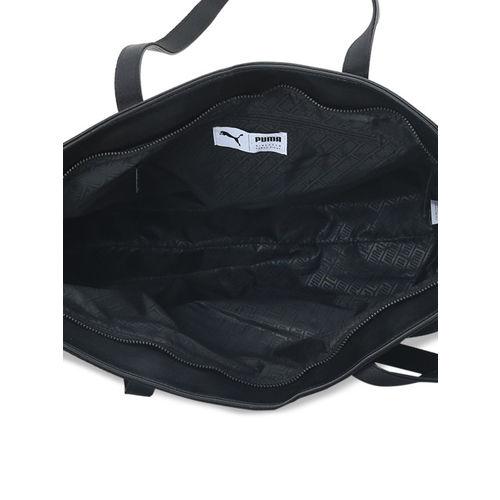 Puma Black Solid Shoulder Bag
