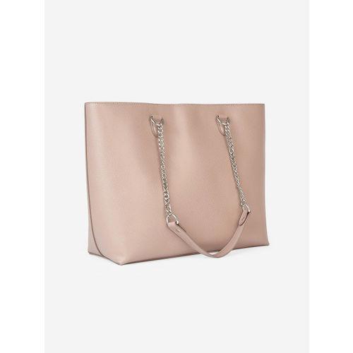 DOROTHY PERKINS Peach-Coloured Solid Shoulder Bag