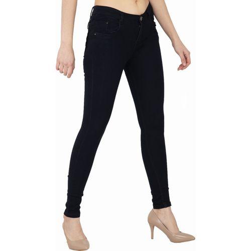AAKRITHI Skinny Women Black Jeans