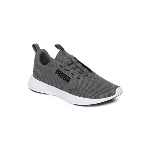 Puma Men Grey Extractor Running Shoes