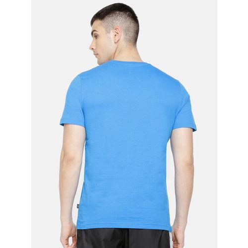 Puma Men Blue SP Execution Printed T-shirt