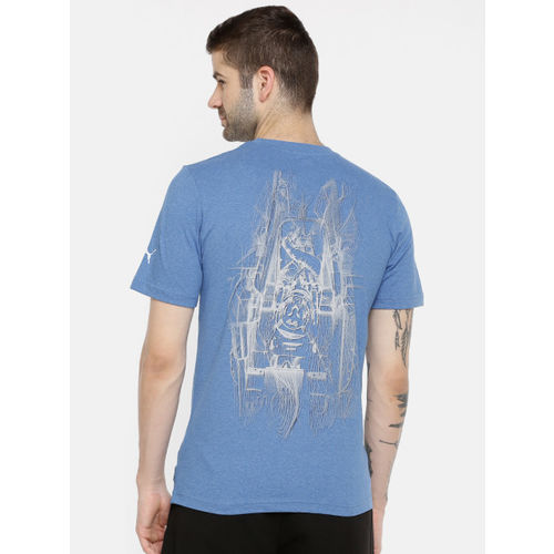 Puma Men Blue MAPM Graphic Driver 1 Indigo Bunting T-shirt