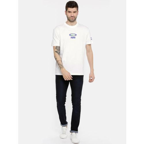 Puma Men White Solid OG T-shirt