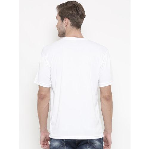 Puma Men White Printed Essential CAT T-shirt