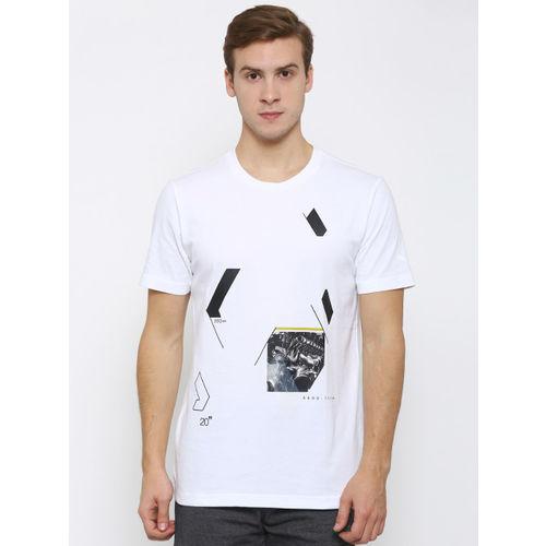 Puma Men White BMW Graphic Print T-shirt