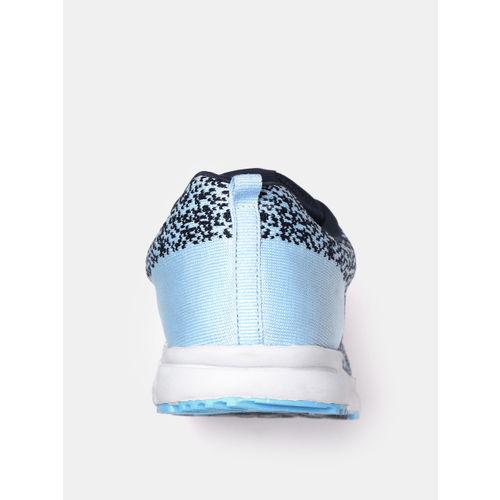 Crew STREET Women Blue Woven Design Running Shoes