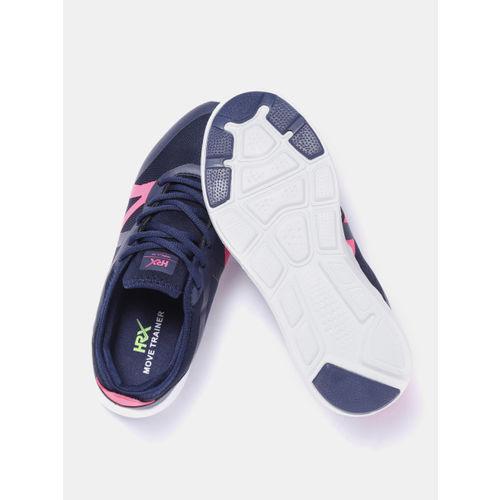HRX by Hrithik Roshan Women Navy Blue Training Shoes