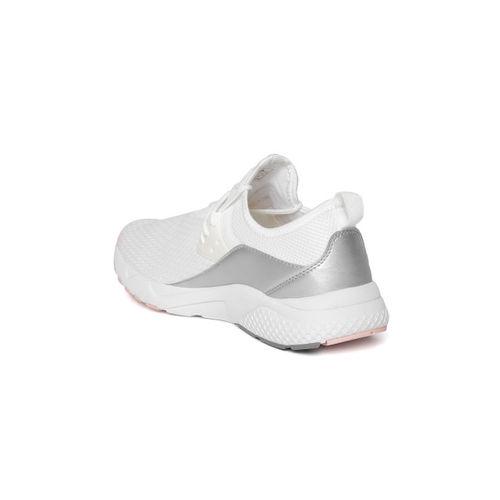 Alcis Women White Running Shoes