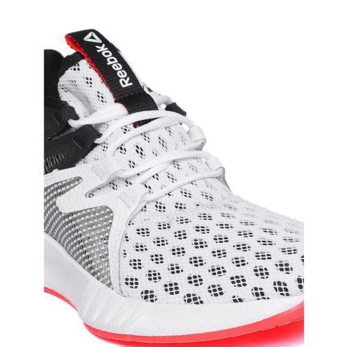 Reebok Women White & Black Fusium Run 2.0 Running Shoes