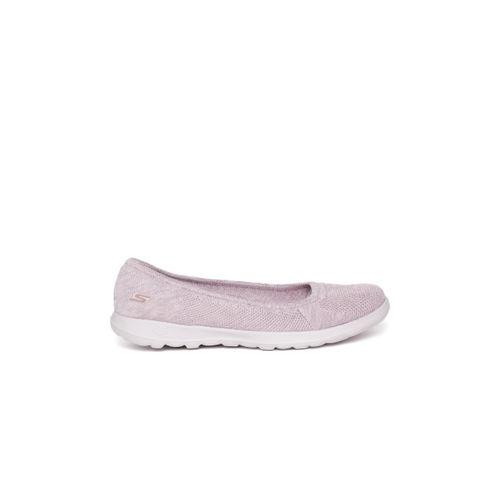 Skechers Pink Go Walk Lite Enamor Walking Shoes