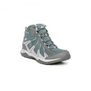 Columbia Women Grey & Green Peakfreak XCRSN II XCEL Mid Outdry Hiking Boots