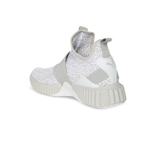 Puma Women Grey Defy Anml Mid-Top Training Shoes