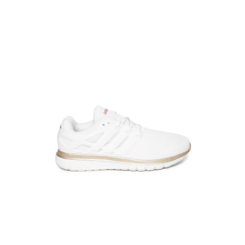 Adidas Women White ENERGY CLOUD V Running Shoes