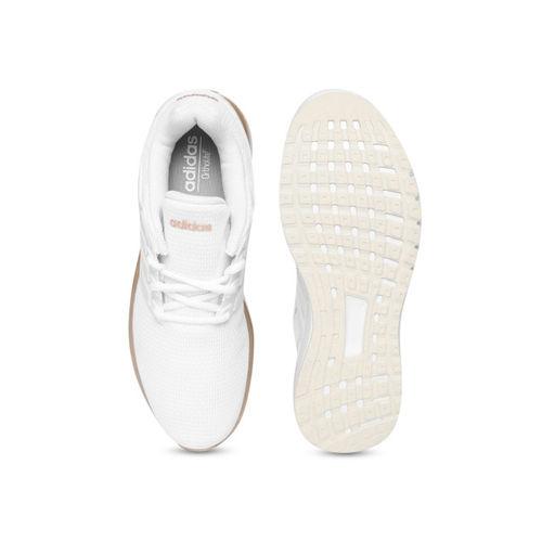 Adidas Women White ENERGY CLOUD V Running Shoes