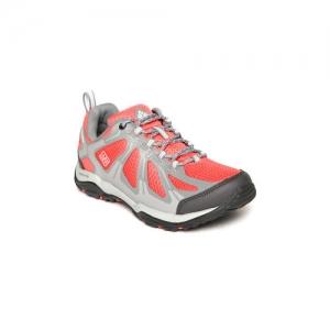 Columbia Women Red & Grey PEAKFREAK XCRSN II XCEL Waterproof Hiking Shoes