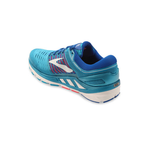 size 40 08594 82c0a Buy BROOKS Women Blue Transcend 5 Running Shoes online ...