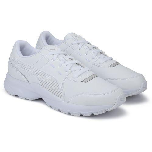 Buy Puma Future Runner L Running Shoes For Men(White) online