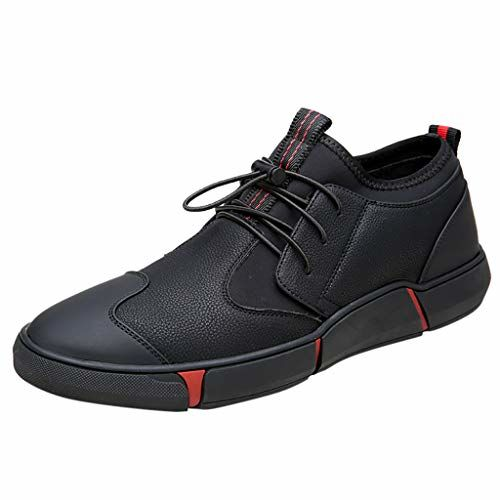 Lailailaily Men Casual Shoes Non-Slip Bottom Shoes Breathable Sneakers Shoes