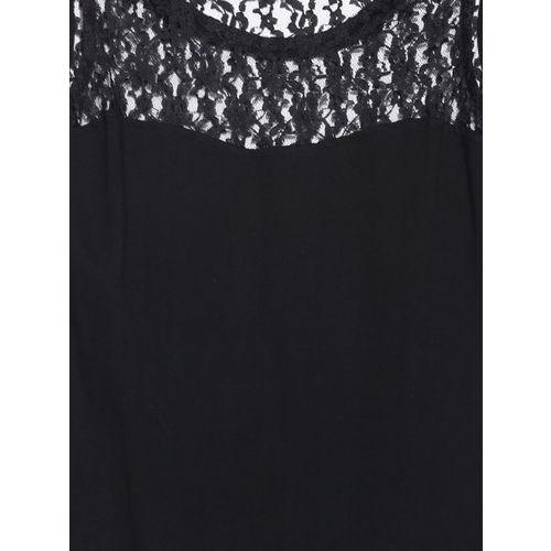 Miss Chase Black Bodycon Dress