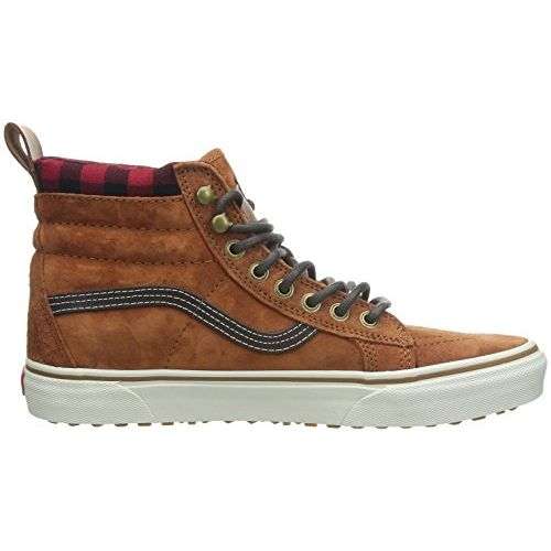 Vans Unisex's SK8-Hi Leather Sneakers