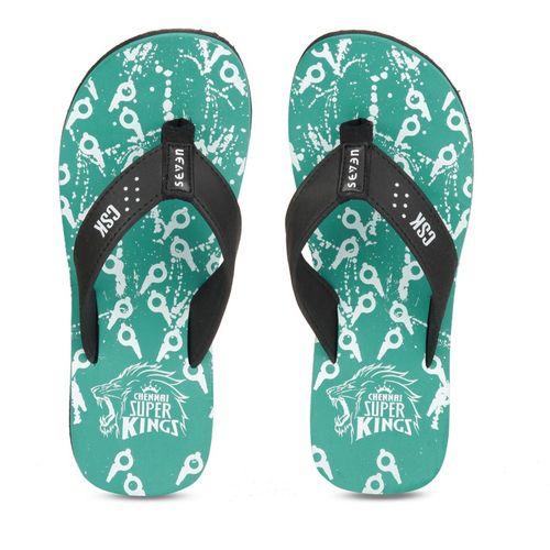 Seven By MS Dhoni CSK Flip Flops