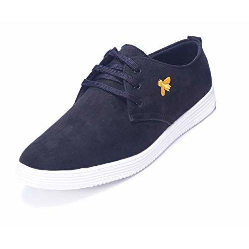 Shoebook Men's Suede Canvas Shoes