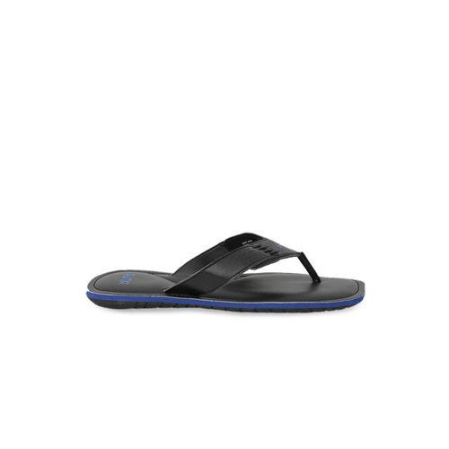 Puma Men Black Solid Thong Flip-Flops