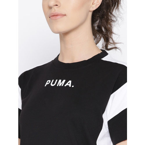 Puma Women Black Chase T-shirt Dress