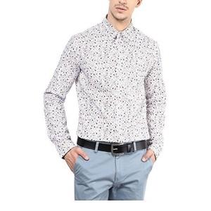 Yellow Submarine White Men's Cotton Shirt