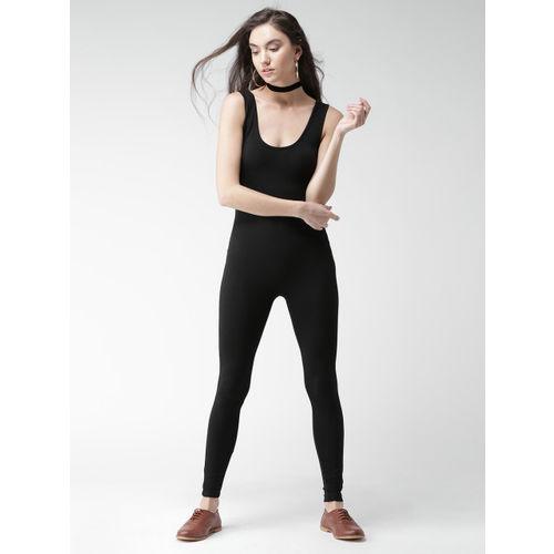 FOREVER 21 Black Jumpsuit
