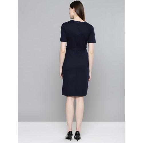 Chemistry Women Navy Sheath Dress